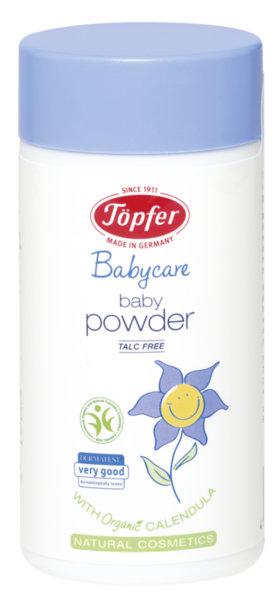 Topfer Бебешка пудра без талк (био пшеничени трици и невен) 75 гр.